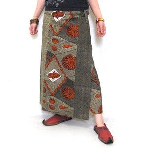 エスニックファッション・アジアンファッション  カンガラップスカート