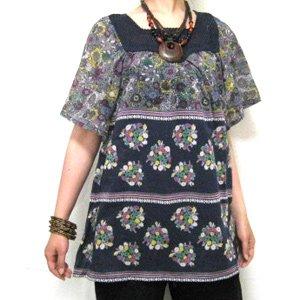 エスニックファッション・アジアンファッション  フラワーズプルオーバー/エスニックファッション・アジアンファッション・アウトレット・セール