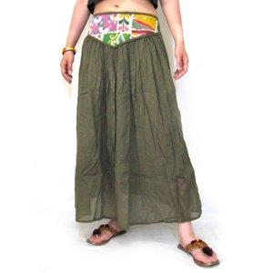 エスニックファッション・アジアンファッション  インド刺繍2WAYスカート/エスニックファッション・アジアンファッション・アウトレット・セール