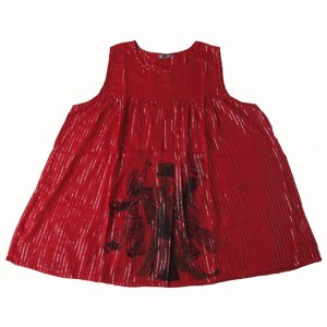エスニックファッション・アジアンファッション  アフリカ柄ラメ入りチュニック/エスニックファッション・アジアンファッション・アウトレット・セール