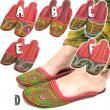 インド刺繍チャッパル/エスニックファッション・アジアンファッション・アウトレット・セール