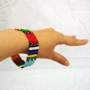 エスニックファッション・アジアンファッション  マサイ族風ビーズブレスレット/エスニックファッション・アジアンファッション・アウトレット・セール