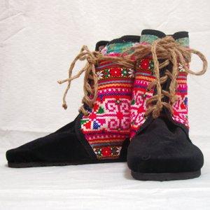 エスニックファッション・アジアンファッション モン族ブーツ