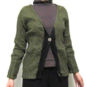 エスニックファッション・アジアンファッション  レースクリンクルジャケット/エスニックファッション・アジアンファッション・アウトレット・セール