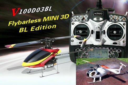 今だけスケールボディ付属★展示品 V100D03BL 超小型3D フライバーレス、3Gジャイロ搭載!送料サービス