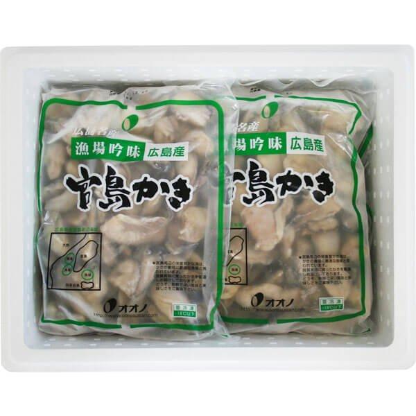 【数量限定】訳あり冷凍割れかき2kg の商品写真