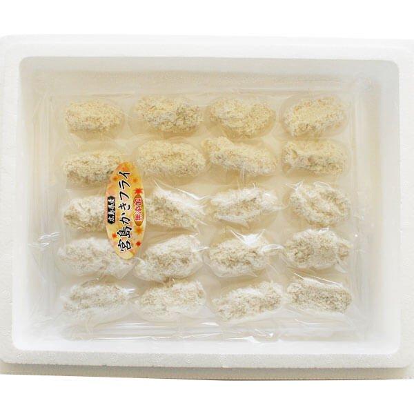 冷凍無添加カキフライ大粒40粒 の商品写真