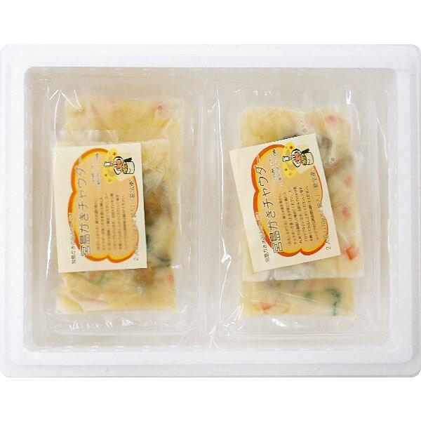 宮島かきチャウダー4食入 の商品写真