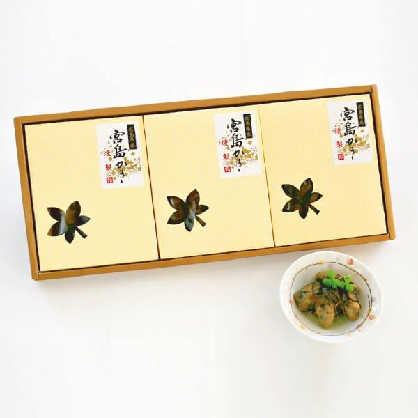 かきの燻製 3箱セット の商品写真