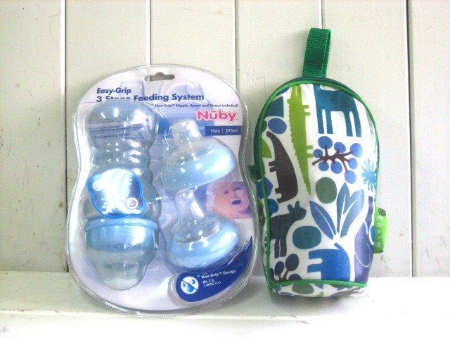 Nubyカップ・ボトルケース スペシャルセット ブルー