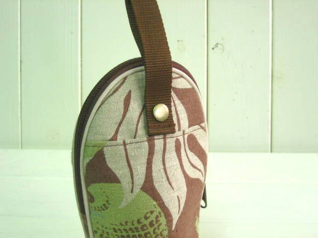 feeding bottle Case LINEN HAWAIIAN BROWN