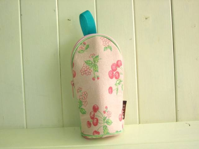feeding bottle Case CHERRY PINK
