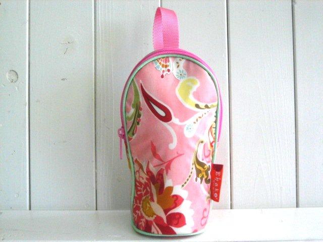 feeding bottle Case ピンクバタフライ PVC