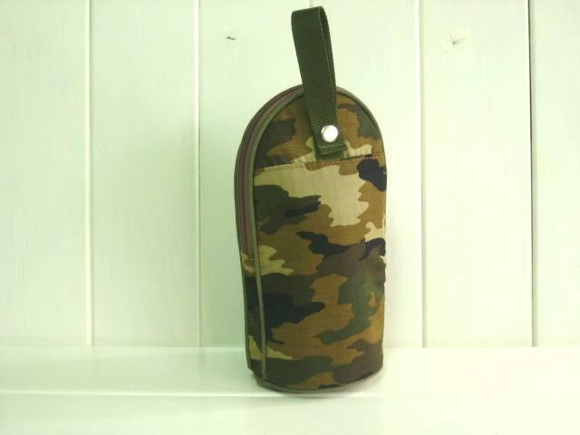 feeding bottle Case カモフラージュブラウン