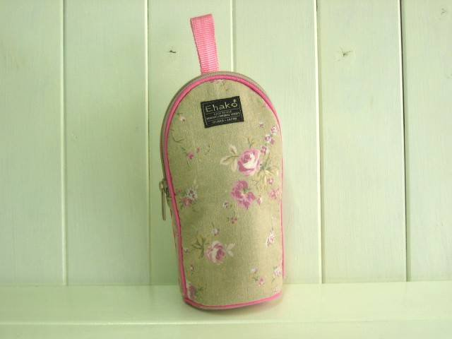 feeding bottle Case BEIGE FLOWER
