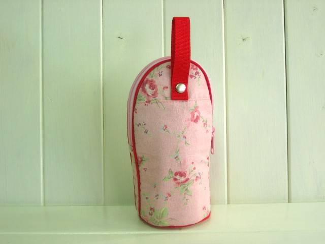 feeding bottle Case PINK FLOWER