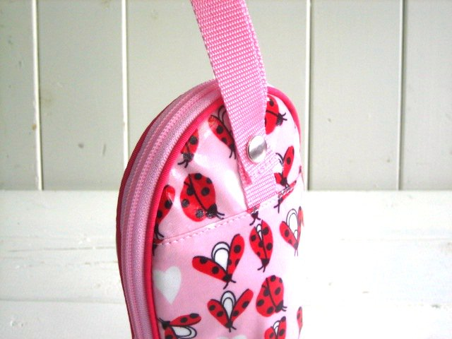 feeding bottle Case Ladybird PVC