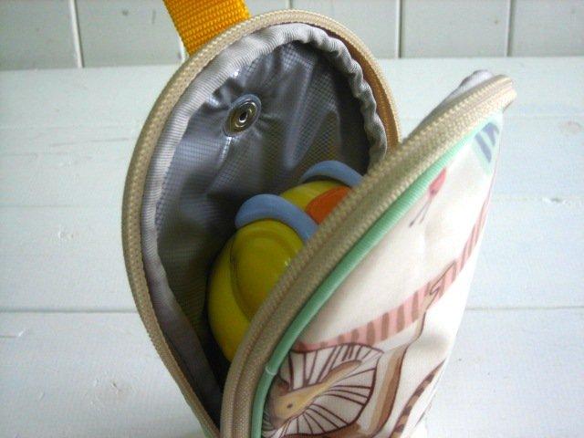 feeding bottle Case アニマル PVC