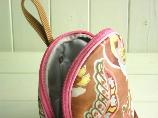 マグケース ブラウンバタフライ PVC