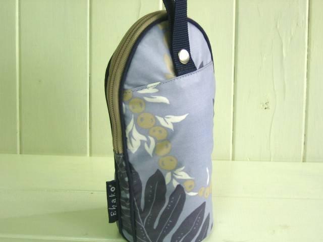 feeding bottle Case レトロハワイアンブルーPVC