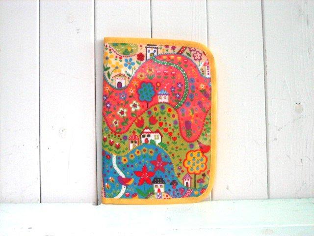 母子手帳ケース フラワーガーデンH PVC L