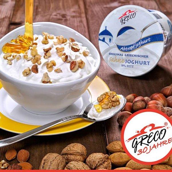 グレコ クリーミー ギリシャヨーグルト 乳脂肪分10% 450g