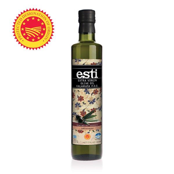 カラマタ産 EXV.オリーブオイル カラマタP.D.O. 500ml×6本