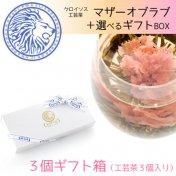 マザーオブラブ +選べるギフトBOX(3個箱・工芸茶付き)