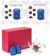 クロイソス工藝銘茶アソート2缶(10珠)&丸ポットセット [送料無料]