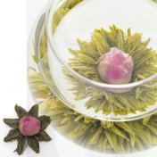 #10 紅心88(べにごころ)オリエンタルルージュ Oriental Rouge キーマン紅茶とバラの工芸茶