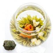 #85 康藝満球(こうげいまんきゅう) Célébrité 緑茶[黄山毛峰] とユリとジャスミンの工芸茶