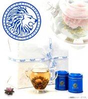 【選べる】 クロイソス工芸茶2缶(10珠入り)&アリエルポットセット[送料無料]