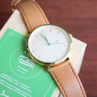 CHEAPO ������/Nawroz/(�쥶���٥��/brown)��14230CC/watch �ӻ���