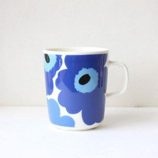 マリメッコ  ウニッコ マグカップ / marimekko  unikko Mug / ブルー