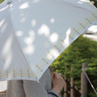 【刺繍タイプ】korko(コルコ)/ 晴雨兼用 刺繍 折りたたみ傘 / 菜の花(Raps) 【UPF50+】【紫外線カット率90%以上】