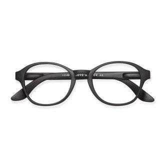 Have a look / リーディンググラス / Circle/ ブラック / 度数1.0〜3.0 / ハブアルック / 既成老眼鏡 /北欧デザイン