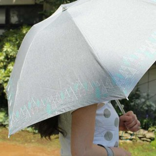 【刺繍タイプ】korko(コルコ)/ 晴雨兼用 刺繍 折りたたみ傘 / かくれんぼ 【UPF50+】【紫外線カット率90%以上】