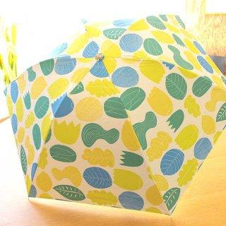 【新柄】【プリントタイプ】korko(コルコ)/ 晴雨兼用 折りたたみ傘 / 植物【UPF50+】【紫外線カット率99%以上】