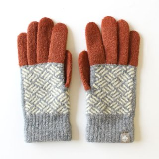 <img class='new_mark_img1' src='https://img.shop-pro.jp/img/new/icons1.gif' style='border:none;display:inline;margin:0px;padding:0px;width:auto;' />TEHTAVA FINGERLESS GLOVES / テスタバ タッチグローブ(アミアミモカ) / 手袋 【ネコポス便発送可】