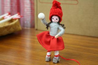 アンネ・ベアテ・ドールズ ニッセ人形 (Girl Snowball 1979)/Anne Beate Dolls