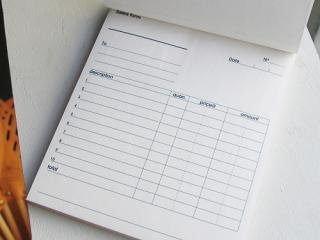 【ネコポス発送可】Sales form(セールスフォーム)/多目的伝票/複写あり
