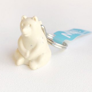 <img class='new_mark_img1' src='https://img.shop-pro.jp/img/new/icons58.gif' style='border:none;display:inline;margin:0px;padding:0px;width:auto;' />【ネコポス発送可】フィンランドのしろくまキーホルダー/Polar Bear Key holder
