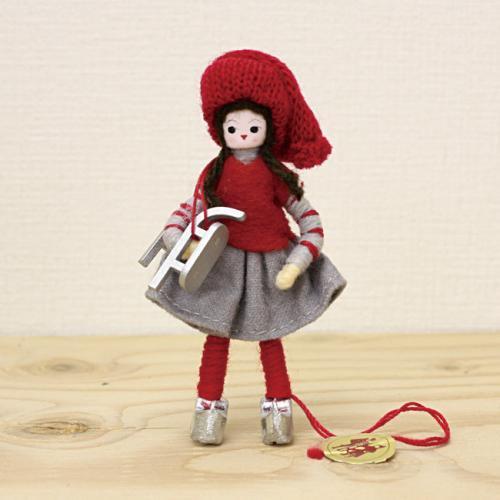 アンネ・ベアテ・ドールズ ニッセ人形(Manor DollsSkating Girl 2014)/Anne Beate Dolls