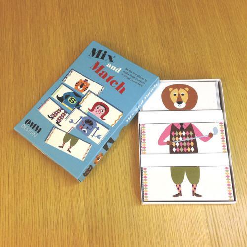 Mix&Match/カードゲーム/インゲラ・アリアニウス デザイン/OMM-design