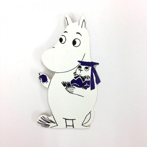 ムーミン Moomin/マグネット(ムーミンとブルーベリー)