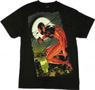 僅か在庫あり【通常タイプ】 スパイダーマンTシャツ コスプレ Amazing Spiderman アメコミ