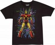 在庫僅か!アイアンマン ソフトタイプTシャツIron Manマーベル アメコミ正規ライセンス品
