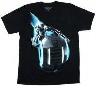 【僅か在庫あり】トロン 【ソフトタイプ★ロゴが光る】Tシャツ TRON ディズニー 正規品