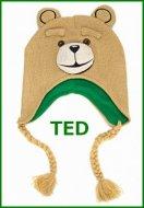 【お取り寄せ】映画テッド ニットキャップ 帽子 TED コメディ ハングオーバーを超えた!?