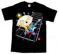 <img class='new_mark_img1' src='https://img.shop-pro.jp/img/new/icons61.gif' style='border:none;display:inline;margin:0px;padding:0px;width:auto;' />【送料無料】ファミリーガイ Tシャツ〈通常生地〉Family Guy shirt Stewie Hero アメリカ輸入ライセンス正規品